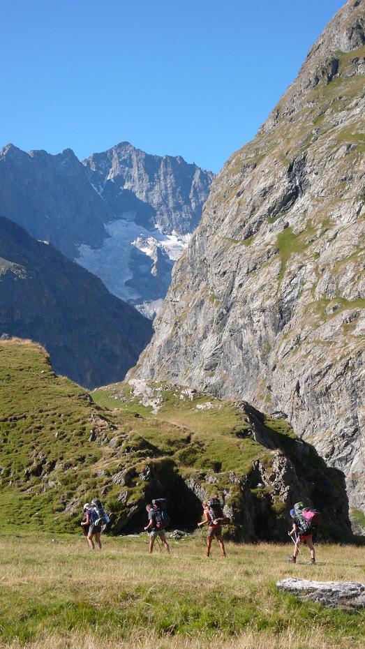 El Club Alpin Libertaire a la Vall de la Romanche. Agost 2015. Extret del blog del CAL